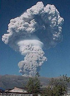 Eruption of Pichincha